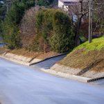 Nowo wyremontowana droga asfaltowa, dojazdy do gospodarstw